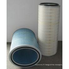 Cartouche industrielle de filtre à air de médias de cellulose pour la centrale électrique