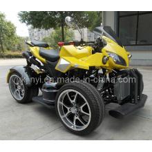 Желтый прохладный дизайн 250cc ATV двойные сиденья EEC одобрен на дорожном ATV