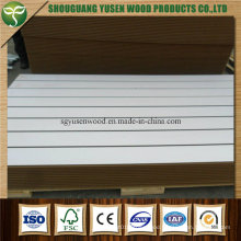 Melamine Slotted Board, High Quality Slat Wall Board