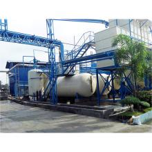 Équipement en plastique de raffinerie d'huile de pneu de rebut, machine en plastique d'affinage