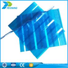 Plan 2017 1830x1220mm feuille de carton ondulé en polycarbonate