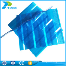 2017 price 1830x1220mm corrugated polycarbonate pc sheet