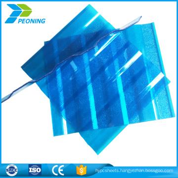 2017 price 1830x1220mm corrugated polycarbonate pc sheet