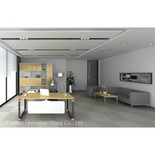 Premium Modern Design MFC Office Manager Director Desk (HF-OFY005)