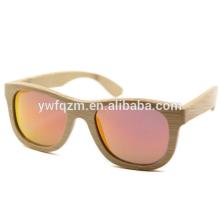Óculos de sol de bambu designer de alta qualidade