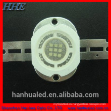 10w 365nm de alta potencia uv led con chips cree o epistar