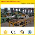 Bobine en acier de coupe de HR CR à la ligne de longueur, machine de mise à niveau de bobine en acier et de découpage