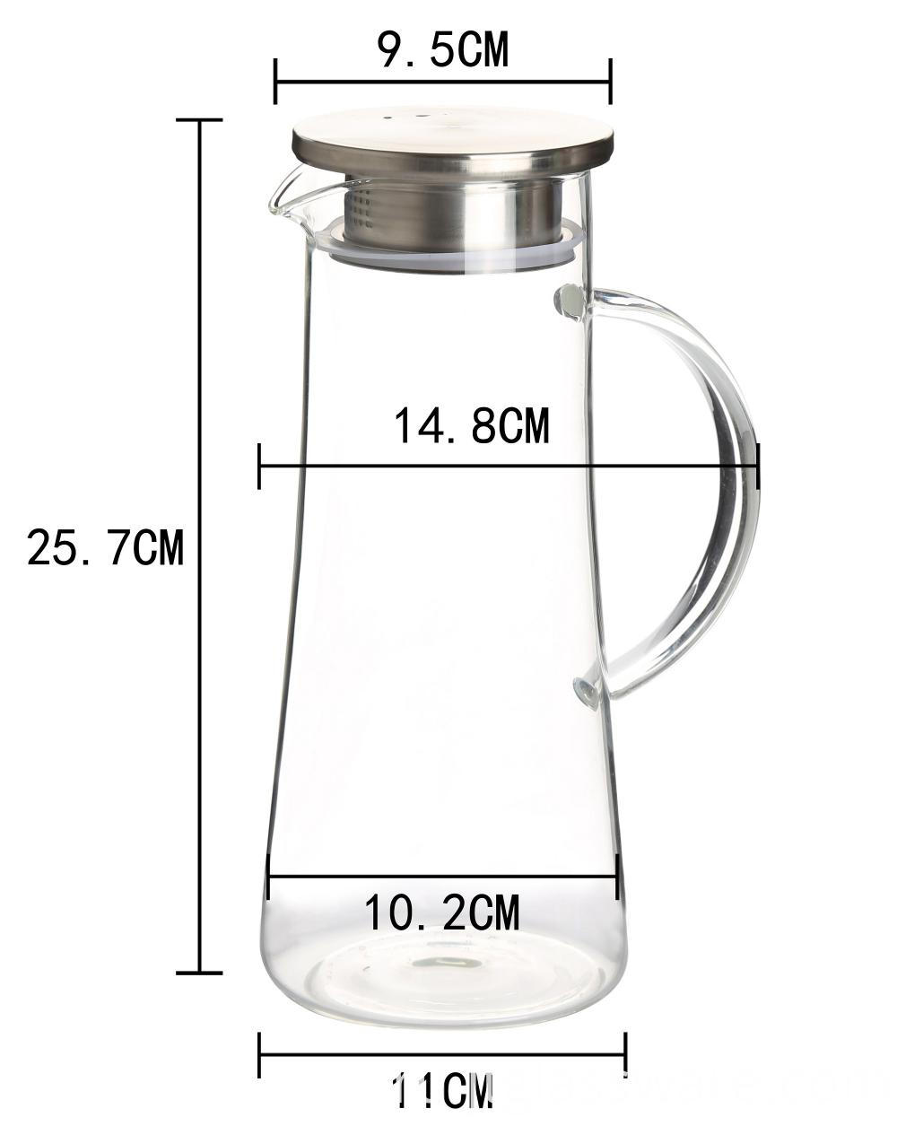 High Borosilicate Glass Coffee Carafe1