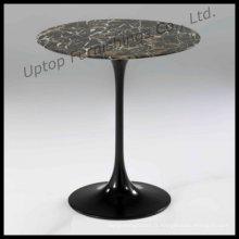 Table basse en bambou à base d'aluminium noir (SP-GT346)