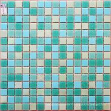 Mosaïque de mélange de carreaux de verre pour salle de bain et cuisine