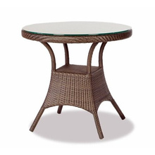 Resin Wicker Garden Outdoor Furniture Rattan Dining Table Set