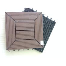 Garantie! Natürliche Holzoberfläche zusammengesetzte Patio-Plattform-Fliesen