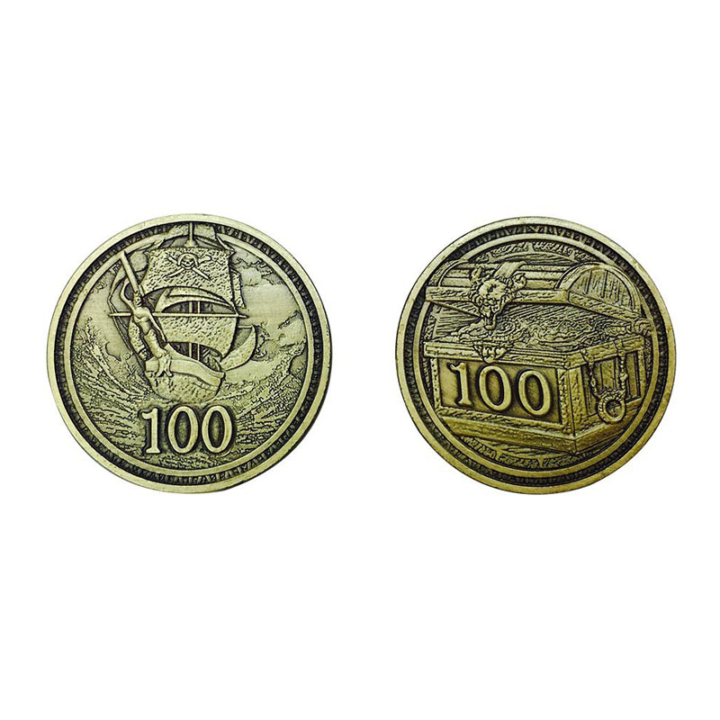 Metal Adventure Coins
