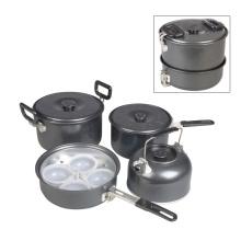 Equipo de cocina de aluminio para camping Cl2c-Dt1911-7