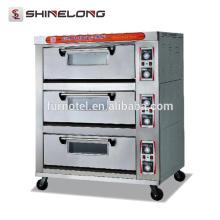 Four commercial de plate-forme de 2 couches de l'acier inoxydable de Guangzhou 2-Tray avec la vapeur