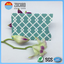 Papier à papier en aluminium Papier en caoutchouc RFID pour carte à puce