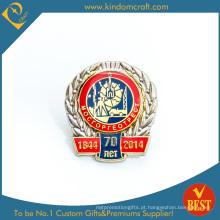 Distintivo de Pin de aniversário para coleção de lembrança da China
