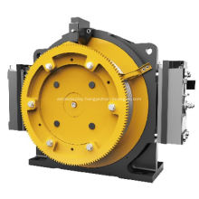 Elevator PM Gearless Machine Rearmounted Cooling Fans