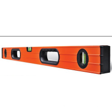 Aluminum Ribbed Spirit Level with Magnets (700811-B)