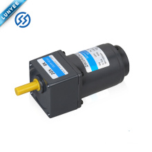 6w high torque small electric ac speed control vibrating gear motor with gearbox