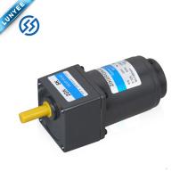 6w alta torque pequeno elétrico ac controle de velocidade motor da engrenagem de vibração com caixa de velocidades