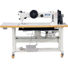 Braço longo Extra Heavy Duty Triple Feed Grosso Thread Lockstitch Máquina De Costura