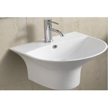 Bassin de salle de bains en céramique suspendu (5300c)
