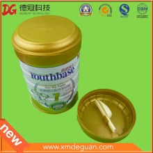 Manufactory Food Grade Powder Can Plastic Lid with Spoon