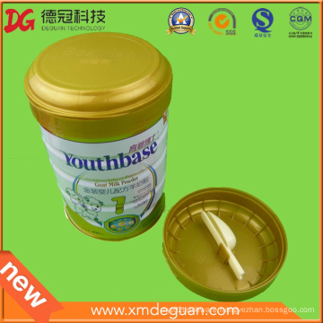 Food Grade Powder Can Plastic Cap with Spoon