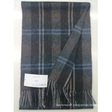 Winter hot cashmere solid color feel men wool scarf