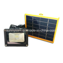 Proyector de luz LED de inundación solar al aire libre para el jardín