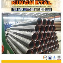 ASTM A53 Gr. B Sch40 ERW Tuyau d'acier au carbone