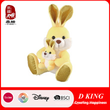 Three Colors Plush Rabbit Toy with Bunny