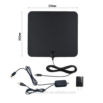 High Gain Smart Indoor Digital Antenna with Amplifier 60 Miles Range Indoor TV Antenna