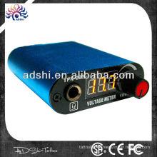 Fabrik direkt verkauft portable digitale LED Tattoo Stromversorgung Fuß Pedal + Clip Cord