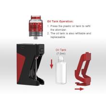 Fornecedores de vaporizador 7ml Zbro tanque de óleo criativo RDA carregável bateria caixa vape