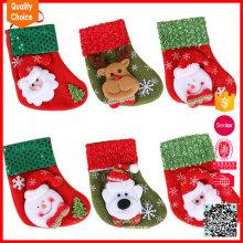 2016 mezclan calcetines personalizados calientes calientes de la Navidad de la historieta de los diseños