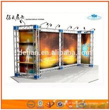 Fermes métalliques en aluminium à vendre, botte d'espace