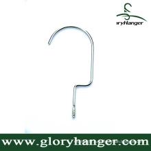 Металлический крюк для вешалок - хромированная отделка (GLMA03)