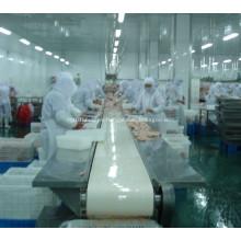 línea de procesamiento avícola de cinta transportadora