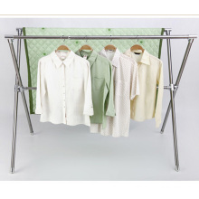 . X-tipo telescópico forte secador de roupa