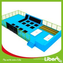 children bungee gymnastics trampolines for park, ASTM standard gymnastics trampolines