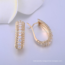 white stone stud earrings diamond gold earring