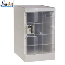 2018 hot sale school used abs plastic locker for student dormitory