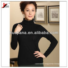 100% worsted cashmere office lady 16GG sweater
