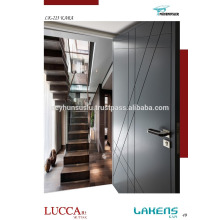 Schwarz lackierte Tür mit Gelenkgut Modernes Design Günstiger Preis
