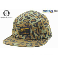 2015 hot hat screen print leopardo camo snapback campper cap