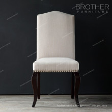 fabric Interior nailheads style furniture dining chair