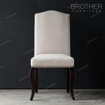 tela Cabezas de clavo interiores muebles de estilo silla de comedor