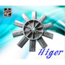 aluminum sand casting part,aluminum fan leaves